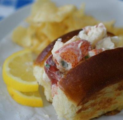 decadent New England Lobster Rolls | just a bite... | Pinterest