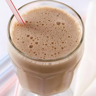 Toffee 12 oz Almond Milk 2 tbsp Vanilla Yogurt 1 tbsp Instant Hazelnut ...