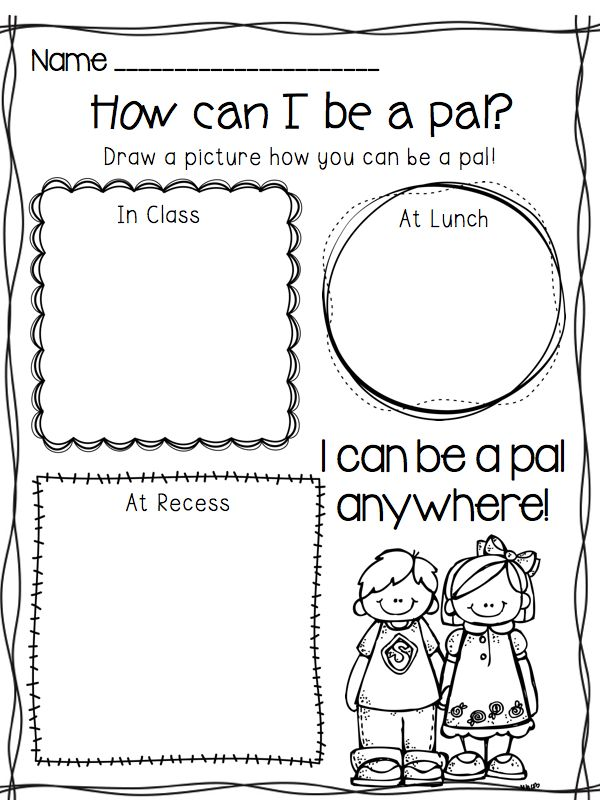 Bullying Coloring Pages For Kindergarten : Bullying worksheets for kindergarten
