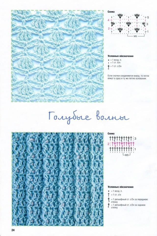 Crochet stitch Crochet - Stitches & Charts Pinterest