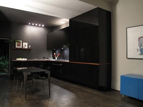 Nearly All Black Kitchen Black Is Good Pinterest