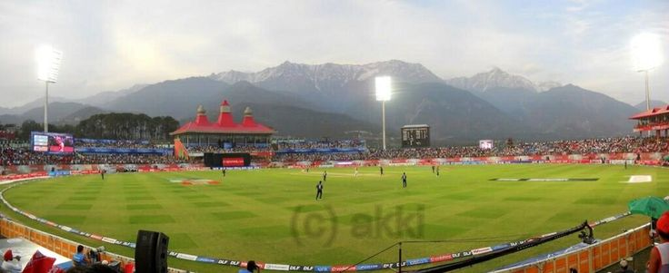 Dharamsala Cricket Stadium, North India. | Places I've Been ... | Pin ...