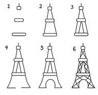 art projects for kids eiffel tower - Google Search   me and Em working together