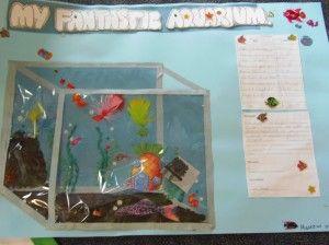 Math Aquarium Home leaning project maths ideas Pinterest