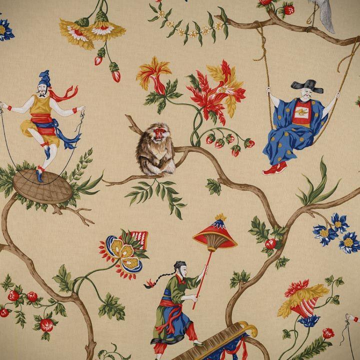 Chinoiserie Fabric