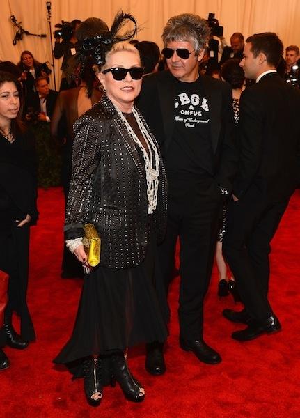 Blondies: Debbie Harry and Chris Stein at the Met Gala 2013