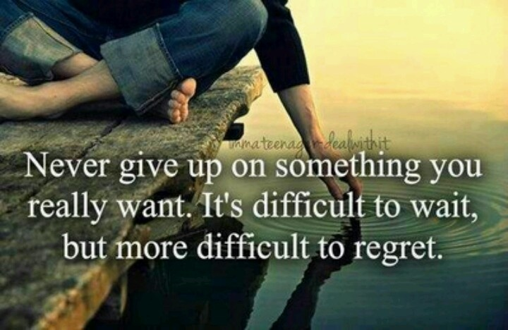 Never Give Up On Love Quotes : never give up on love Quotes To Live By Pinterest