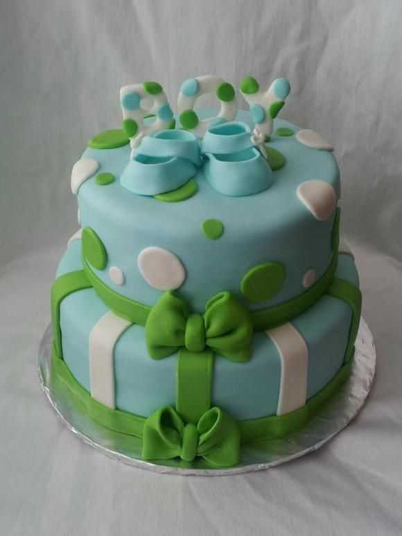 baby shower cakes polka dot baby boy shower cakes