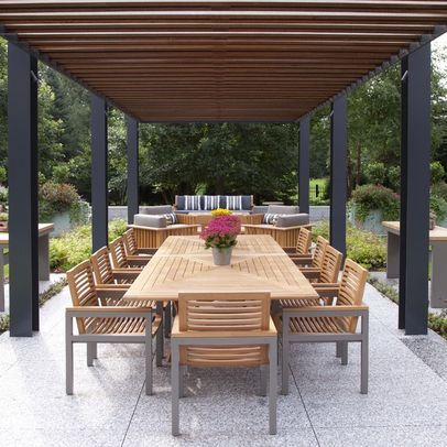 modern pergola. Black Bedroom Furniture Sets. Home Design Ideas