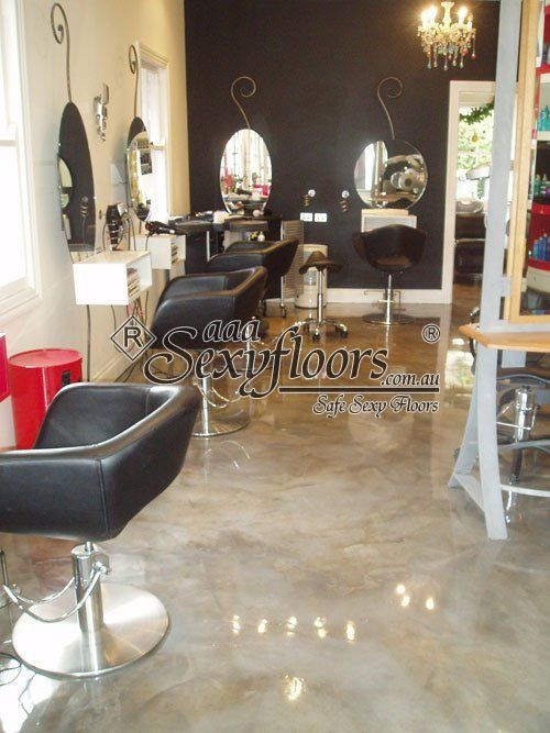 salon floor flooring ideas pinterest