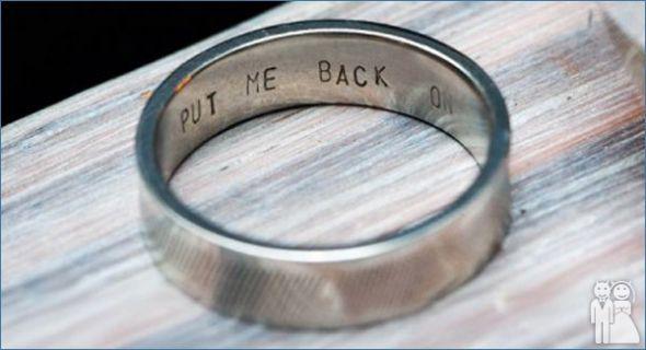 Wedding Ring Inscriptions Nick Pinterest