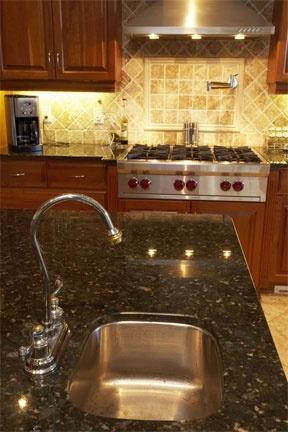 Island with prep kitchen sink 1 condo pinterest
