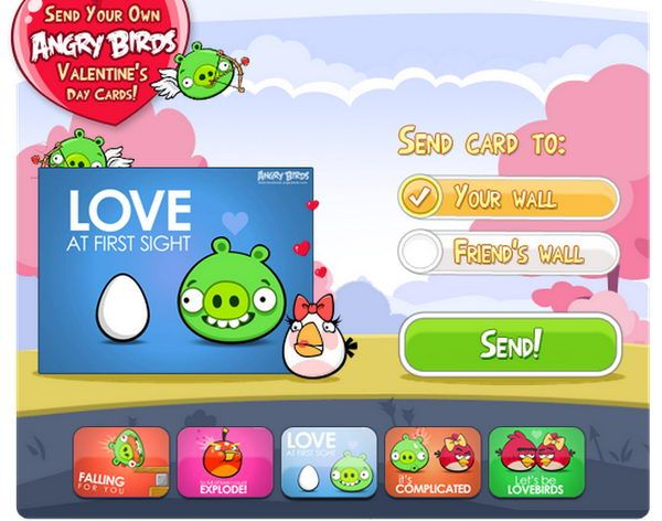 angry birds valentine's day board game