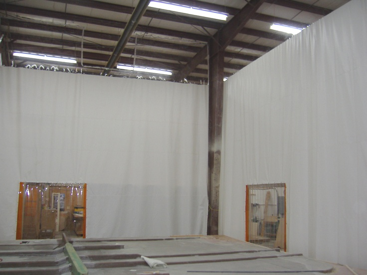 ... by Stripcurtains.com Doors & Curtains on Warehouse Curtains | Pin