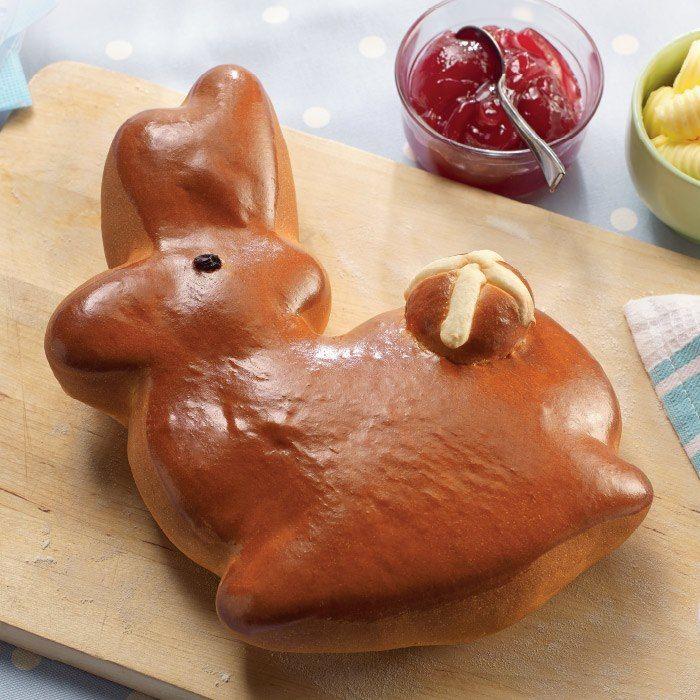 Easter Bunny Bread | Easter | Pinterest