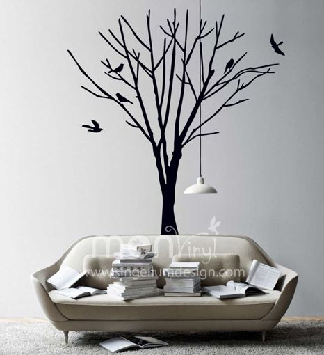 Vinilo arbol seco pa 39 la pared pinterest for Stickers para pared decorativos