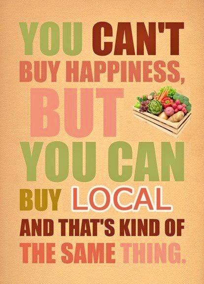 happiness = my weekly csa box!