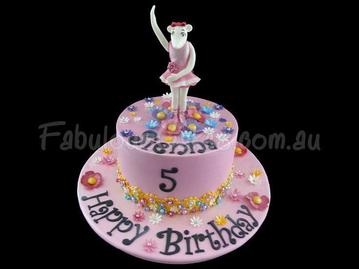 Angelina Ballerina Pink Birthday Cake  Angelina ballerina cake  Pin ...