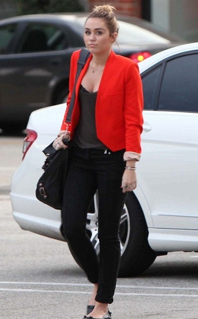 Miley - bright blazer