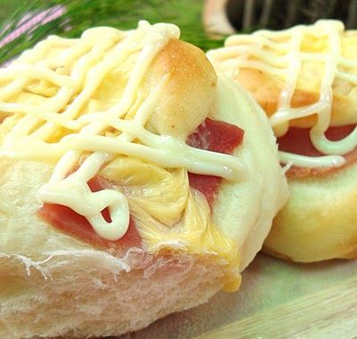 frozen wings: Ham and Cheese Bun | Breads, Buns and Rolls | Pinterest