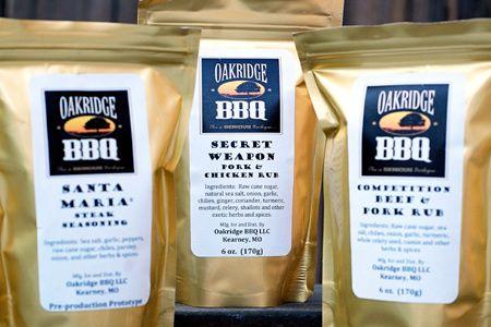 REVIEW: OAKRIDGE BBQ RUBS: ~ Courtesy of John Dawson
