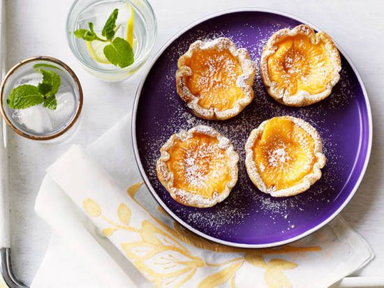 Coconut-flavoured custard tarts - Better Homes and Gardens - Yahoo!7