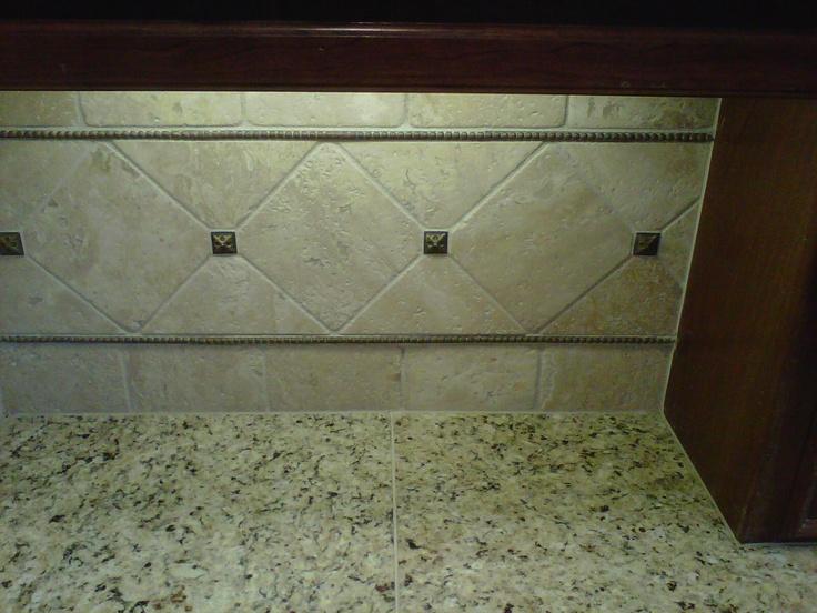 Custom Tile Backsplash Kitchen Ideas Pinterest
