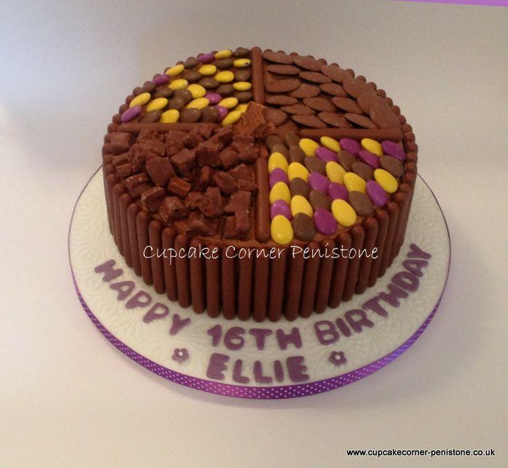 Cadbury Chocolate Cake Images : Pin by Cupcake Corner Penistone on Celebration cakes ...