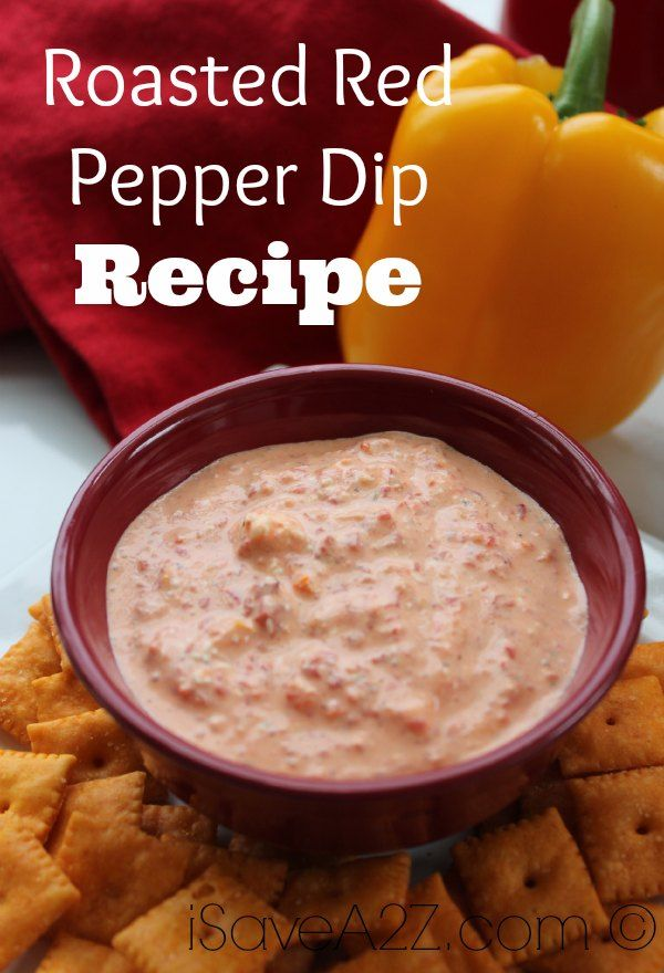 Roasted Red Pepper Dip - iSave A2Z