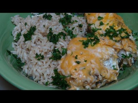 Chicken Breast and Salsa Verde Bake | Funtastical Food | Pinterest