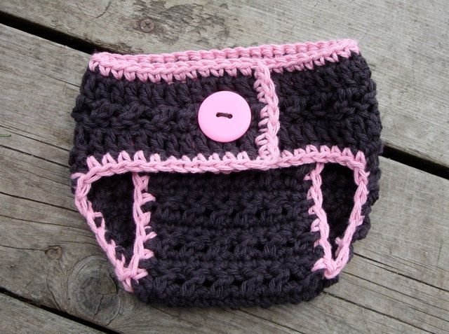 Crochet Newborn Diaper Cover : Crochet Pattern for X-Factor Diaper Cover - 3 sizes, Newborn Baby to ...
