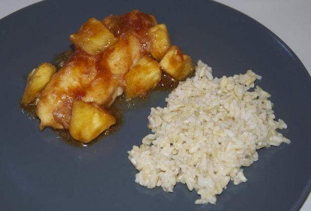 Pineapple Chicken. Pretty good tasting and easy recipe to follow. I ...