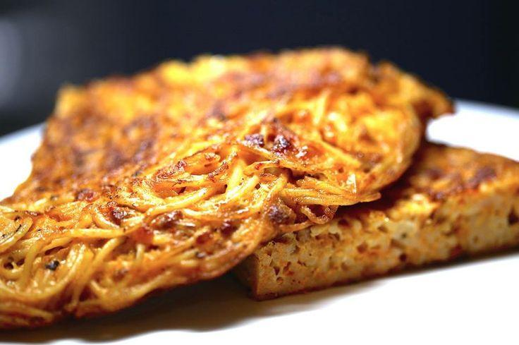 Spaghetti Frittata | Recipes to Cook | Pinterest