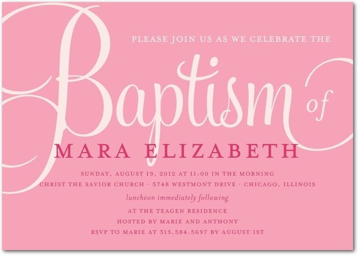Invitations For Christening as great invitations ideas