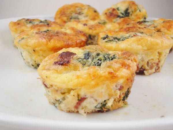 crustless ham and cheese quiche | Dinners and Lunches | Pinterest