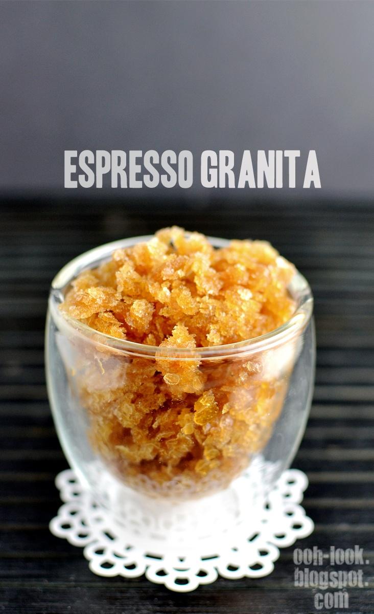 Tasty! | Ooh, Look... Espresso Granita | @ooh-look.blogspot.com.au