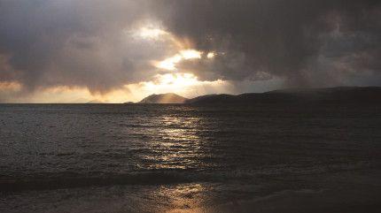 Skiathos Island Winter Landscape