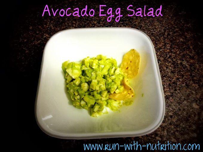 Avocado Egg Salad | Delicious | Pinterest