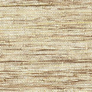 Kenneth James   Shangri La Jiao Taupe Grass Cloth Wallpaper   Nothing