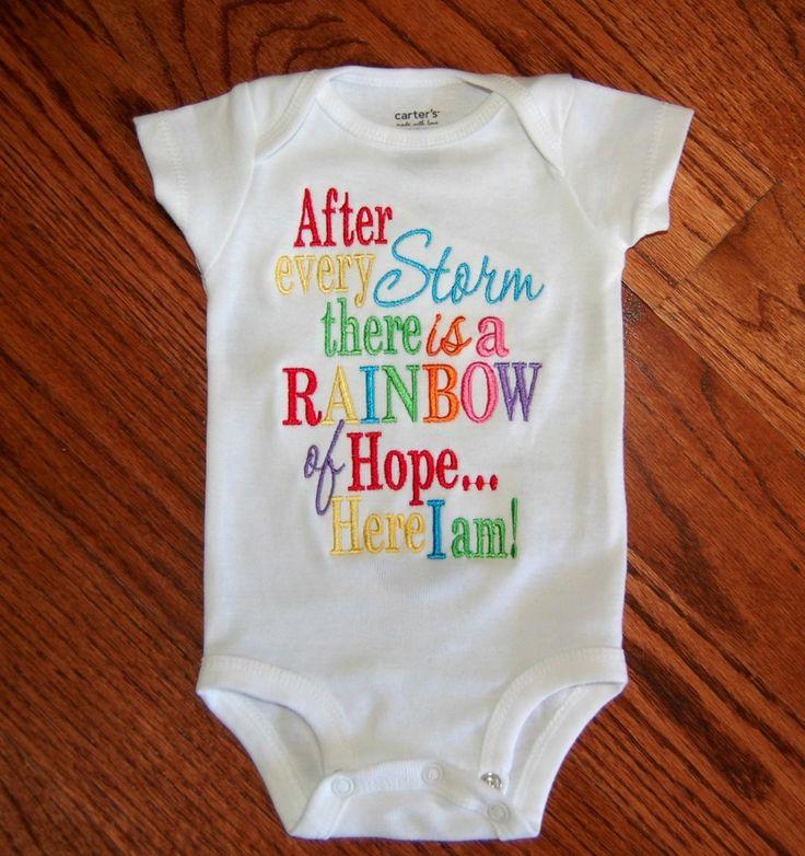 Rainbow Baby Clothes