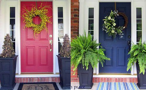 Navy Blue Door For The Home Pinterest