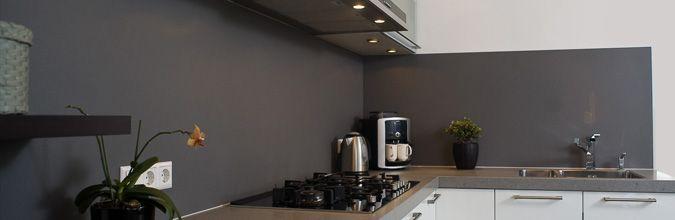 Keuken hoogglans wit achterwand – atumre.com