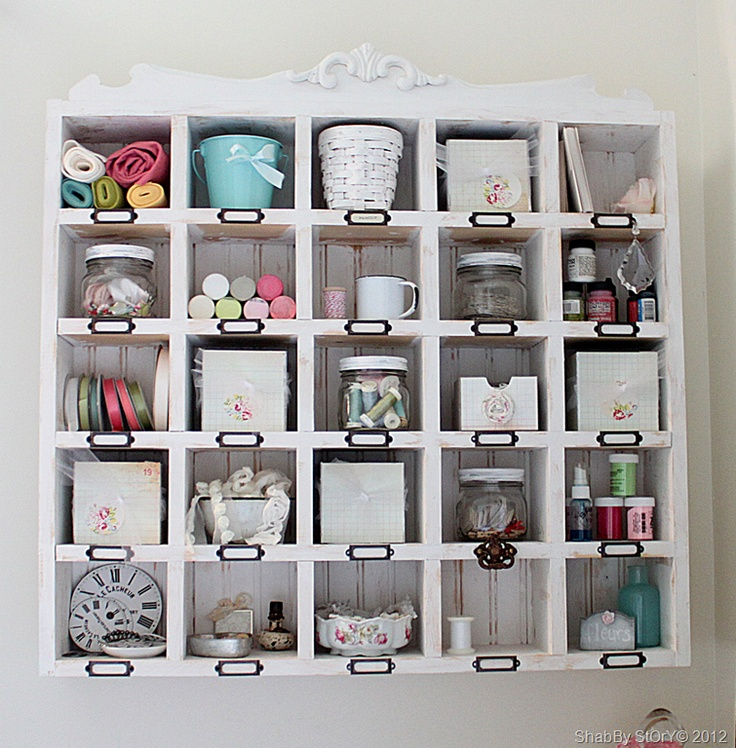 Cubbies Craft Rooms Pinterest