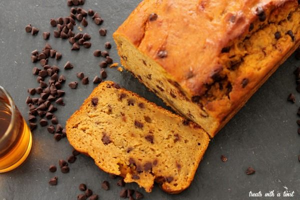 Bourbon-Spiked Chocolate Chip Pumpkin Banana Bread (treats with a ...