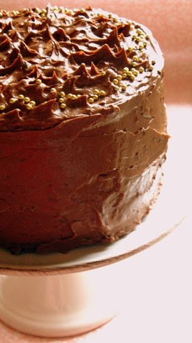 Mile High Chocolate Cake | Baking {sweets} | Pinterest