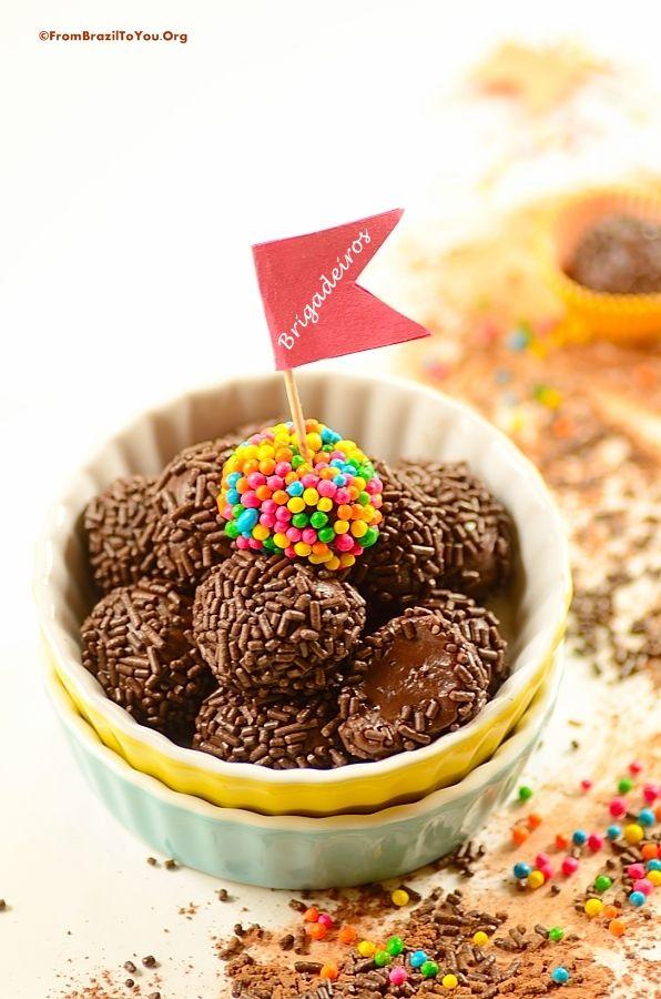 Brigadeiros - Brazil's famous chocolate fudge balls - From Brazil To ...