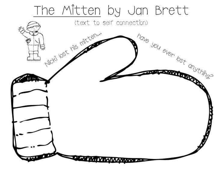 The Mitten By Jan Brett Activities Le Bon Usage