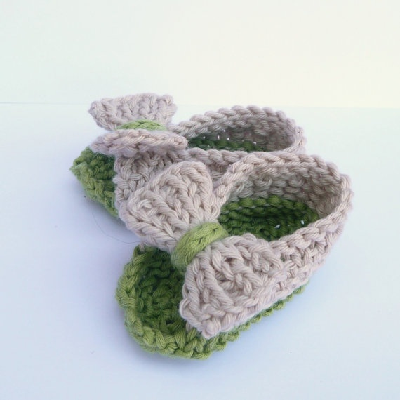 Baby Shoes Knitting Patterns