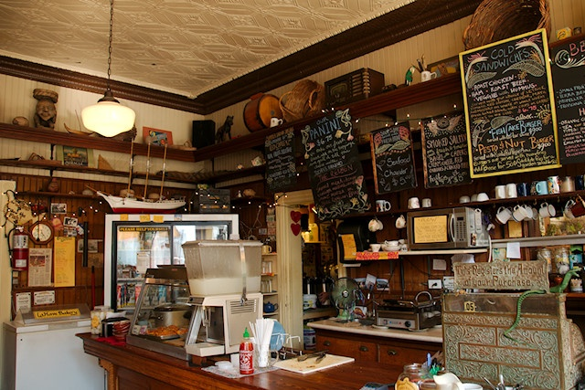 Coffee shop decor decor kitchen for Coffee shop mural