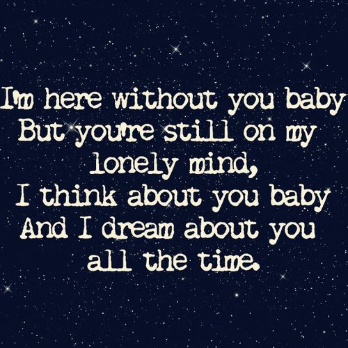 3 doors down here without you babe № 276881